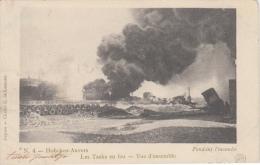 Hoboken    Les Tanks En Feu   Vue D' Ensemble                            Scan 5954 - Herenthout
