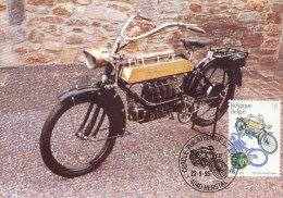 D15503 CARTE MAXIMUM CARD 1995 BELGIUM - F.N. 1913 MOTOR BIKE CP ORIGINAL - Motos