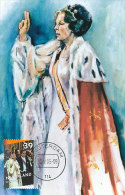 D15506 CARTE MAXIMUM CARD FD 2005 NETHERLANDS - QUEEN BEATRIX - 25 YEARS REIGN CP ORIGINAL - Royalties, Royals