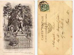 LA FERTE MACE -Monument Des Anciens Soldats De 1870 - Cachet Perle:La Sauvagère  (53275) - La Ferte Mace