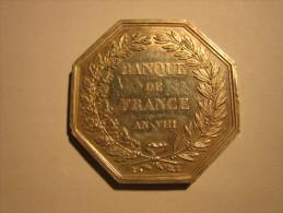 Jeton De Présence Banque De France - Professionnels / De Société