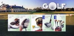 Australia 2011 Golf Minisheet MNH - Mint Stamps