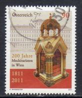 Oostenrijk, Mi 2921 Jaar 2011, Gestempeld, Zie Scan - 1945-.... 2. Republik