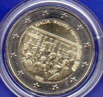 2 EURO Malta 2012 Stg 18€ Edition Wahlrecht 400 Jahre Verfassung 2€-Münze Stempelglanz Ohne Münz-Zeichen Coin Of Valetta - Malte