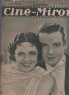 CINE MIROIR 3 07 1931 - FERNAND GRAVEY SUZY VERNON - DANIELE PAROLA - MAË MURRAY - BAISERS - LE MIRACLE DES LOUPS - - Cinéma/Télévision