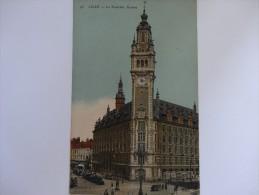 LILLE LA NOUVELLE BOURSE   Colorisée - Lille