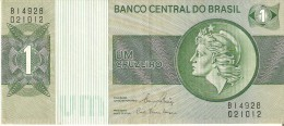 BILLETE DE BRASIL DE 1 CRUZEIRO DEL AÑO 1972 (BANKNOTE) - Brasil