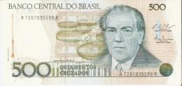 BILLETE DE BRASIL DE 500 CRUZADOS DEL AÑO 1986  (BANKNOTE) SIN CIRCULAR-UNCIRCULATED - Brasil