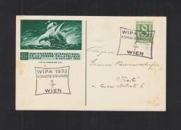 Österreich PK WIPA 1933 Nach Triest - 1918-1945 1. Republik