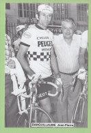 Jean Pierre DANGUILLAUME. 2 Scans. Peugeot Michelin - Cyclisme