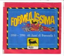 2ENG10 - FORMULISSIMA Dell' AGIP : Bustina Del 1990 NON Aperta - Adesivi