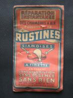 Ancienne POCHETTE Pleine De RUSTINES SIAMOISES De Vélo - Camping
