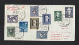Österreich R-Brief 1951 Sonderstempel Bregenz Nach Luzern - 1945-.... 2. Republik