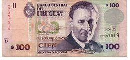URUGUAY 100 PESOS 2011  P 88 NEW UNC - Uruguay