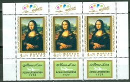 Hungary 1974 Mona Lisa In Asia MNH** - Lot. A291 - Blocks & Sheetlets