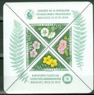 Hungary 1958 Flowers MNH** - Lot. A292 - Blocks & Sheetlets