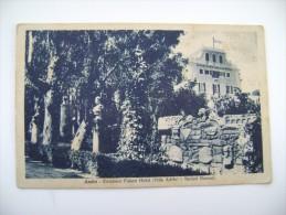 ANZIO EXCELSIOR PALACE HOTEL   (VILLA ADELE)    LAZIO -   VIAGGIATA  COME DA FOTO FORMATO PICCOLO - Altre Città