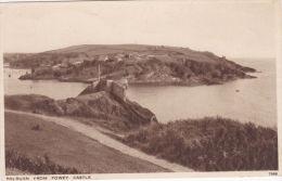 POLRUAN FROM FOWEY CASTLE - England