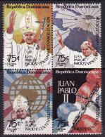 Dominican Republic #920 F-VF, Mint NH ** Pope John Paul II - Dominican Republic