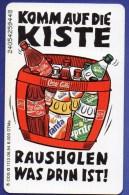 TK O 1113/1994 Werbung Coca-Cola #6/94 ** 40€ Volle Coke-Kiste Mit Fanta Sprite Begehrte Limonaden Tele-card Of Germany - Lebensmittel