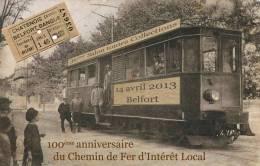 Belfort 36ème Salon Centenaire Du Chemin De Fer D'Intérêt Local (Tramway Départemental) - Belfort - Città