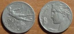 1910 - Italie - Italy - 20 CENTESIMI, (R), VITTORIO EMANUELE III, KM 44 - 1861-1946 : Royaume