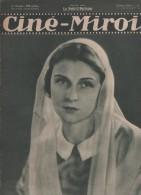 CINE MIROIR 31 07 1931 - SIMONE GENEVOIS - RENEE VELLER - LILY DAMITA - DEMEURES D' HOLLYWOOD - - Cinéma/Télévision