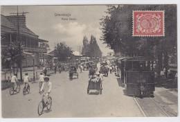 Néerländische Indien - Surubaya - Soerabaja - Pasar Besar - Tramway - - Indonésie