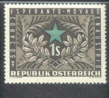 Österreich 1005 Esperantobewegung  MNH Postfrisch ** - 1945-60 Nuevos & Fijasellos