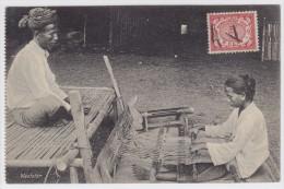 Néerländische Indien - Tissage - - Indonésie