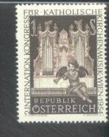 Österreich 1008 Kirchenmusik MNH Postfrisch ** - 1945-.... 2. Republik
