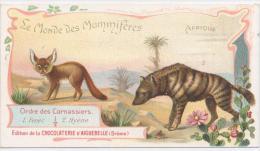 AIGUEBELLE  Le Monde Des Mammiferes FENEC Et HYENE - Aiguebelle