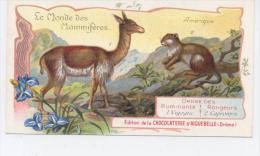 AIGUEBELLE  Le Monde Des Mammiferes VIGOGNE Et CAPROMYS - Aiguebelle