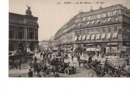 C P A----75---PARIS----LA RUE HALEVY----voir 2 Scans - Arrondissement: 03