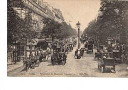 C P A----75---PARIS---perspective Du Boulevard Poissonnière----voir 2 Scans - Arrondissement: 03