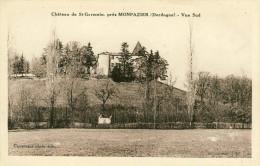 Château De St-Germain Près  Monpazier  Vue Sud   Cpa - France