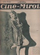 CINE MIROIR 14 08 1931 - JEANNE HELBLING - COMIQUE TRAMEL - NORD 70°-22° DOCUMENTAIRE GROENLAND DE RENE GINET - Cinéma/Télévision