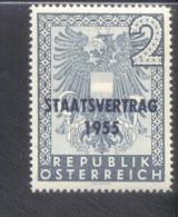 Österreich 1017 Staatsvertrag  MNH Postfrisch ** - 1945-.... 2. Republik