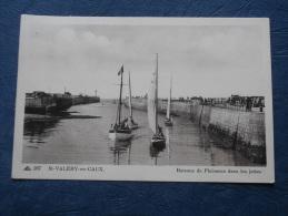 St Valery En Caux - Bateaux De Plaisance Dans Les Jetées - Cap 287 - Circulée 1945 - L144B - Saint Valery En Caux