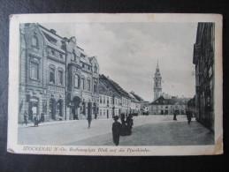 AK STOCKERAU Rathausplatz 1926  //  D*10616 - Stockerau