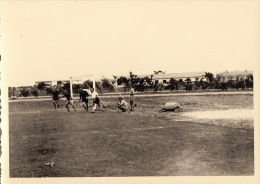 4 Photo D´un Match De Foot Football à Kitona Congo Afrique - Etiquetas