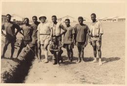 Photo Travailleur Noir à Kitona Afrique Congo - Etiquettes