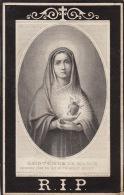 Francoise Vanstalle Dulier Nivelles 1804 1880 - Overlijden