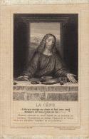 Belle Image La Cène En Tissus - Andachtsbilder