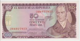Colombia 50 Peso 1974 Pick 414 UNC - Colombia