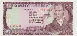 Colombia 50 Peso 1984 Pick 425 UNC - Colombia