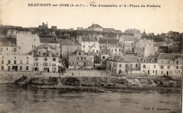 CPA  -  BEAUMONT - Sur - OISE  (95)  Vue D' Ensemble  N° 2  -  Place Des Pothuis - Beaumont Sur Oise