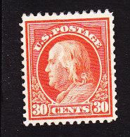 US, Scott #420, Mint Hinged, Franklin, Issued 1914 - Etats-Unis