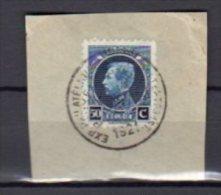 BELGIQUE    Oblitéré      Y. Et T.   N° 187 Sur Fragment    Cote: 3,50 Euros - Belgium