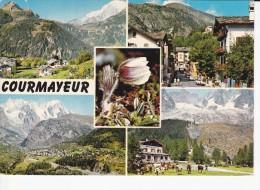 CORMAYEUR (Italie) Scorcio Panoramico Verrand, Via Roma, Val Ferret, Planpincieux, Chalet - Italia